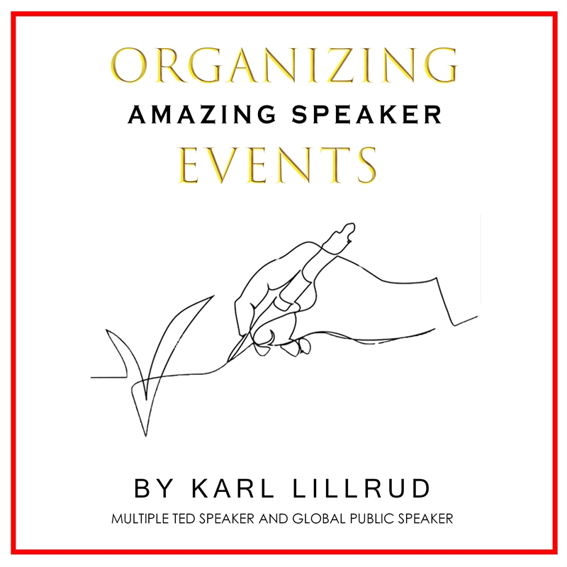 Organizing amazing speaker events